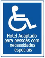 Acessibilidade para Pessoas com Necessidades Especiais - Hotel Mar Caraguatatuba