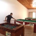 Salão de Jogos do Hotel Mar Caraguatatuba