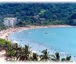 Praia do Centro - Hotel Mar Caraguatatuba