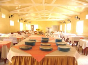 Restaurante do Hotel Mar Caraguatatuba
