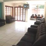 Sala de TV do Hotel Mar Caraguatatuba